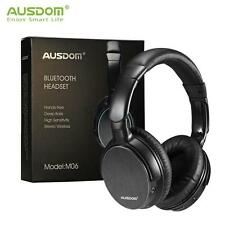 AUSDOM M06 Wired & Wireless Bluetooth Headphone Over-ear Stereo Headsets w/Mic