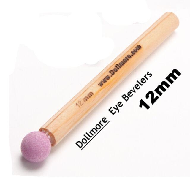 Dollmore Tools for Doll Making or Repair Eye Bevelers 12mm