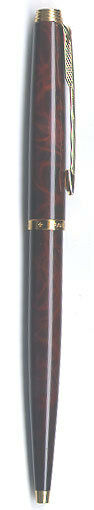 Parker 75 Peremier Thuya Brown Chinese Lacque & Gold Ballpoint  Pen New In Box