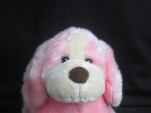 Animal Alley Pink Puppy Dog Purse Handbag W Haddles Plush Stuffed