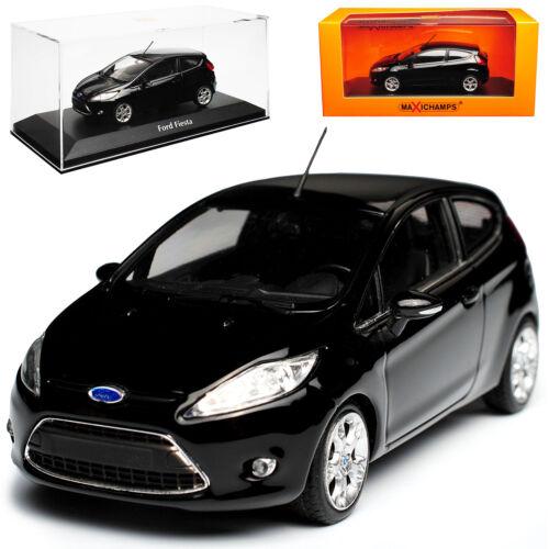 Generatinon 2008-2017 1//43 Minichamps Maxicha Ford Fiesta JA8 3 Türer Schwarz 7