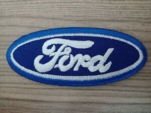 Racing Ford Blue// Black Motor Cars Embroidered iron// Sew-on Patch Jacket Badge