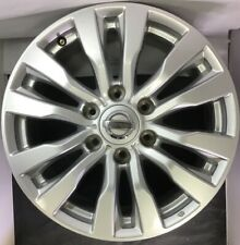 One Used 2017 19 Nissan Armada 62737 Wheel 18 Rim Silver Oem D0c005zw1a 1742
