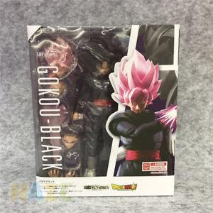 S-H-FIGUARTS-SHF-Dragonball-Z-Goku-Gokou-Negro-Super-Saiyan-Figuras-de-accion-de-juguete