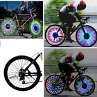 Bicycle Motorcycle Car Bike Tyre Tire Wheel Valve 36 LED Flash Spoke Light Lamp