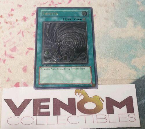 1st Edition YuGiOh - Twister 1x STON-EN042 Ultimate Rare VLP