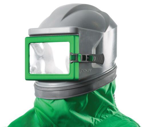 Schutzmaske Sandstrahlhelm Nova 1 mit Nylonjacke Strahlhelm