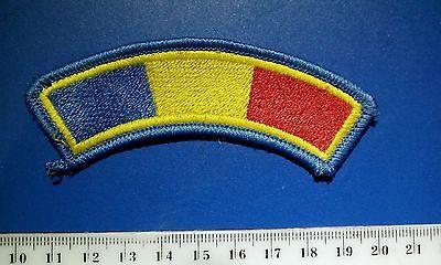 Patch Romania Flag shoulder side Actual Romanian Army bdu uniform