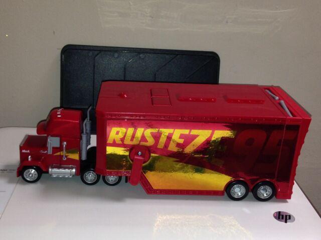 Disney Pixar Cars 3 Race Rusteze Mack Kids Playset
