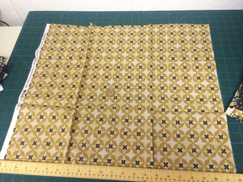 More 100/% Cotton Craft Wove is me Yellow Geometric Michael Miller Fabric FQ