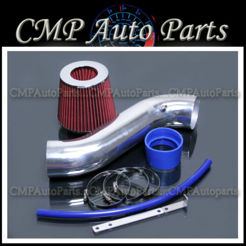 BLUE RED 2005-2010 JEEP GRAND CHEROKEE COMMANDER 3.7 3.7L AIR INTAKE KIT SYSTEMS