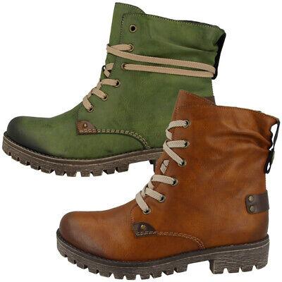 Rieker Eagle Ambor Schuhe Women Damen Antistress Stiefel s5jap
