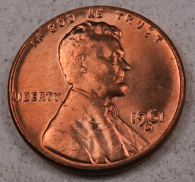 1981 P Lincoln Memorial Penny ~ Uncirculated Cent from Bank Roll