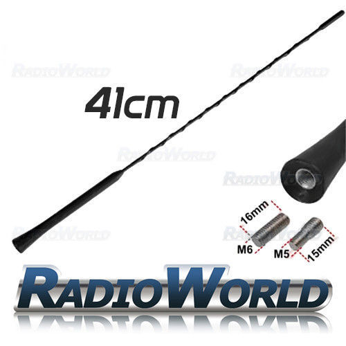 RENAULT MEGANE MK2 BLACK GENUINE REPLACEMENT AM//FM AERIAL ANTENNA ROOF MAST