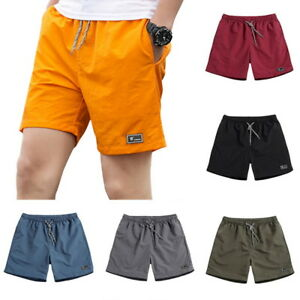 36d934e9f3c5 Image is loading Casual-Men-Boys-Summer-Shorts-Swimming-Pants-Fashion-