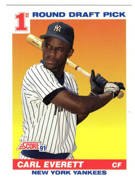1991 Score Carl Everett 386 Baseball Card