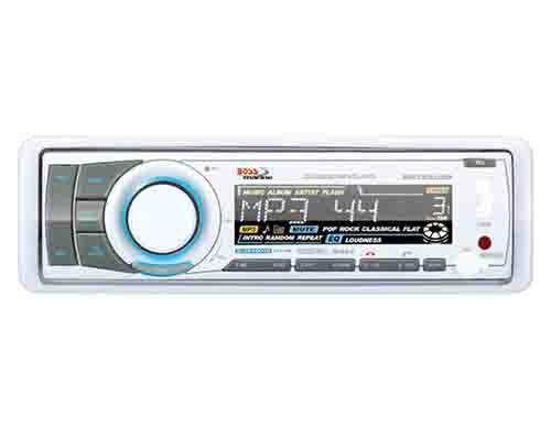 BOSS MARINE Stiefel RADIO MR752UAB WEIß Stiefel MARINE YACHT USB IPOD OUTDOOR WASSERDICHT MP3 2b2e34