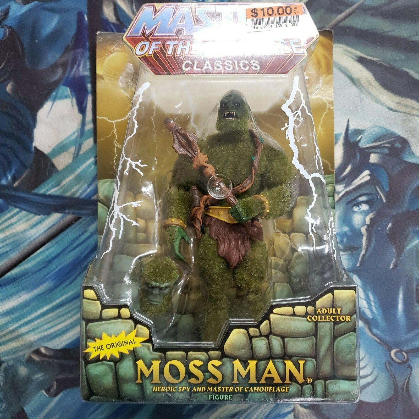 Masters del universo clásicos Moss Man, Matty Collector Nuevo En Caja