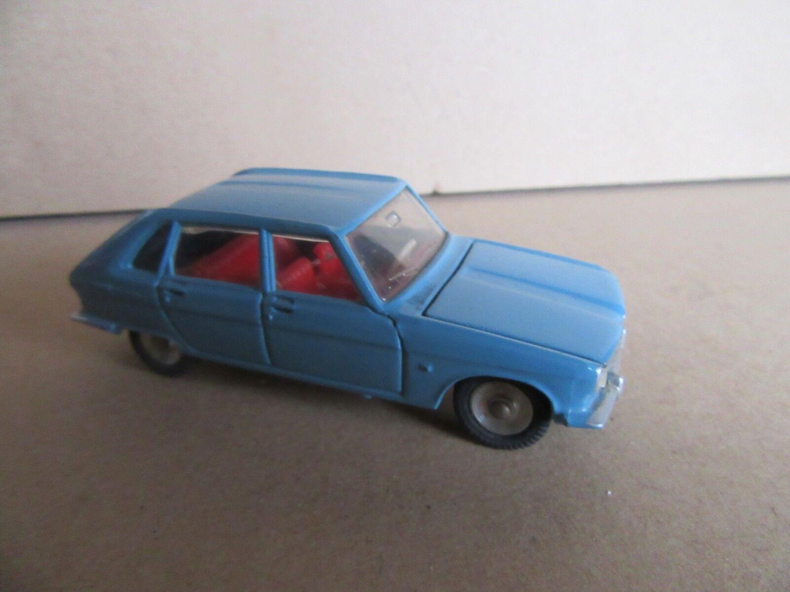 Dinky 537 Renault 16 Blu 1 43 Vintage 987h