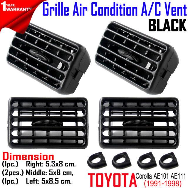 Grille Air Condition Ventilator black For Toyota Corolla Ae100 1991 1995