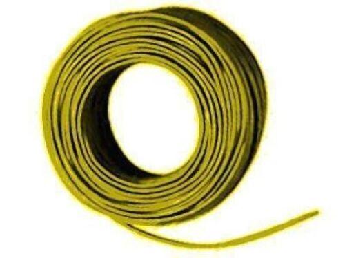 Kupferschaltdraht Litze 1x0,14(18x0,1)qmm 10m Ring gelb