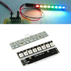 8-Bit WS2812 5050 RGB LED Lamp Panel Round Ring LED Driver Development Board UK