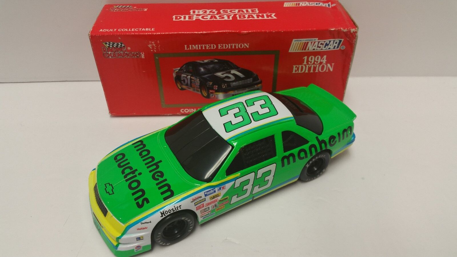 1994 Harry Gant último paseo Racing Champions BWB 1 24 escala diecast Nascar