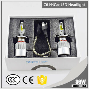 1pc-H4-9003-HB2-36W-3800LM-Car-LED-Headlight-Bulbs-COB-6000K-White-Hi-Lo-Beam