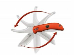 Outdoor-Edge-Swingblade-Orange-Swingblade-Aufbruchklinge-Skinner-Jagdmesser