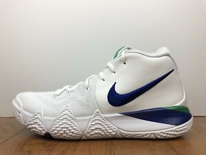 "735bf62eaca Men s Nike Kyrie 4 ""Seattle Seahawks"" Size-11.5 White Blue Green ..."