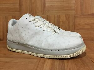 new styles 77552 fd0fa Image is loading RARE-Nike-Air-Force-1-Supreme-Seamless-Ostrich-