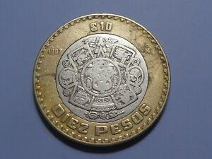 Mexico, 10 Pesos, 1997, Mexico City