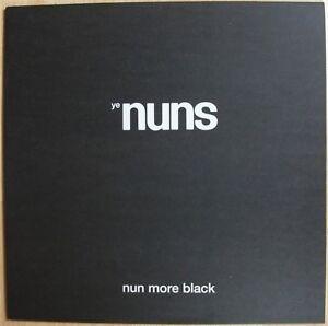 YE-NUNS-Nun-More-Black-vinyl-LP-Monks-garage-punk-psych-beat-300-copies