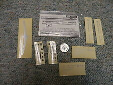 Walthers decals HO Diesel Frt Pass 73-94 New Haven silver J34