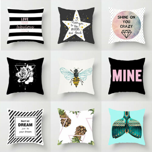 18/'/' Throw Polyester Fantasy Painting Pillow Case Lovely Cushion Cover