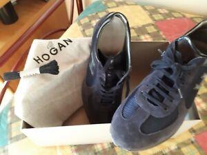 scarpe uomo hogan blu misura 42,5   eBay
