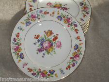 Syracuse China Old Ivory Sharon pattern Salad Plates USA made