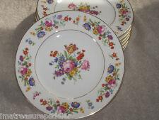 Syracuse China Old Ivory Sharon pattern Salad Plates USA made