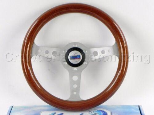 Sport Line 320 mm Wood Marine Boat Steering Wheel