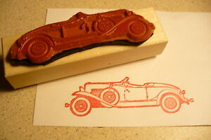 1932 Auburn Speedster Classic Sports Car Rubber Stamp Cord Duesenberg 1931
