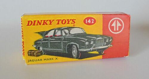 REPRO BOX DINKY n 142 JAGUAR MARK X