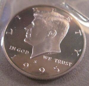 1995-S  PROOF KENNEDY HALF DOLLAR