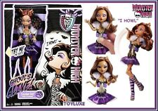 Monster High GHOULS ALIVE Clawdeen Wolf Doll - I HOWL Sound & Move /weak battery