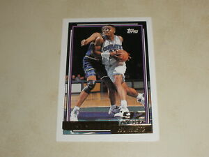 1992-93 Topps Basketball Gold #393 Alonzo Mourning Rookie RC