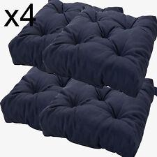 Ikea Malinda Chair Cushion Black Mat Indoor Outdoor Patio Kitchen Pad 303.310.08