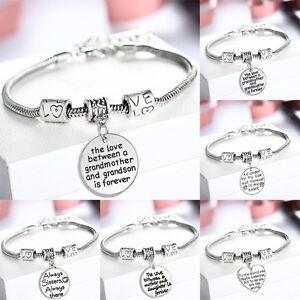 fashion family bangle bracelet love mother daughter grandmother dad