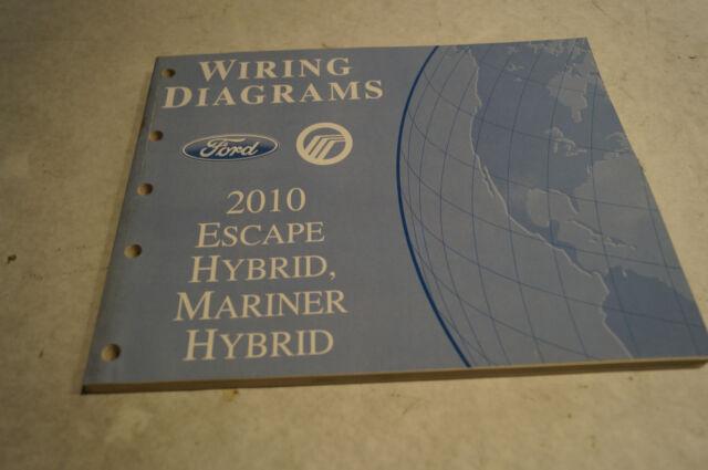2010 Genuine Ford Escape Hybrid Mariner Hybrid Wiring
