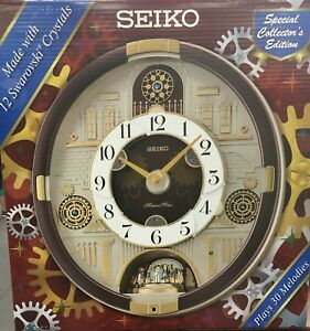 Seiko-Melodies-in-Motion-QXM377BRH-Special-Limited-Edition-New-30-Melodies