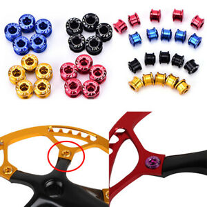Litepro-Bike-Chainring-Screw-Chainwheel-Bolt-Single-Double-Triple-Speed-Colorful