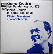 LP KOECHLIN Bandar-log, BOULEZ, Messiaen / Dorati, Boulez / VSM CVA 878 NM
